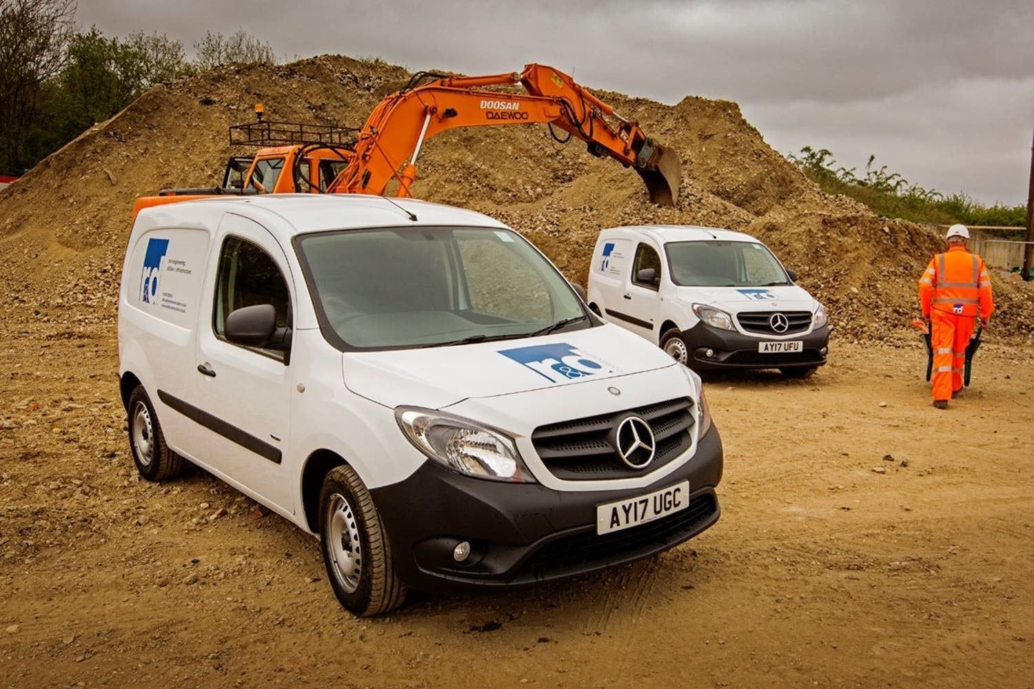 5e274ac9ffaae6 R D Construction lays firm foundations for future growth with Mercedes-Benz  Citan