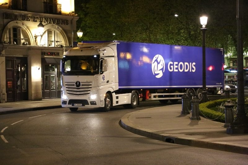 GEODIS lorry
