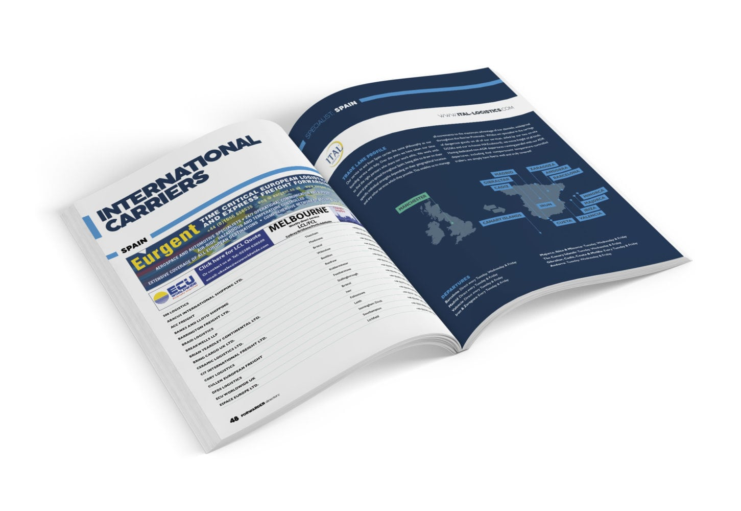 International directory | FORWARDER magazine