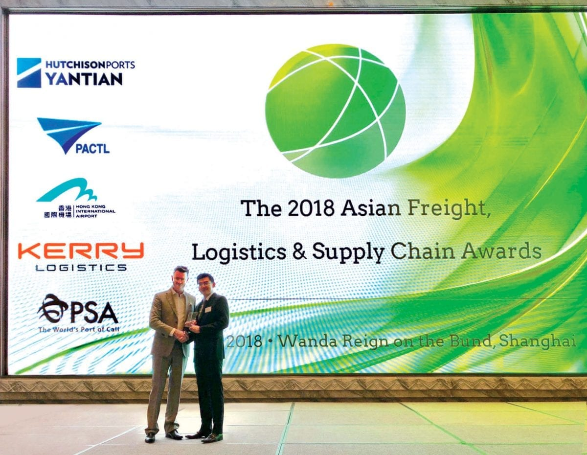 Kerry Logistics Honoured with Two Wins at 2018 AFLAS Awards