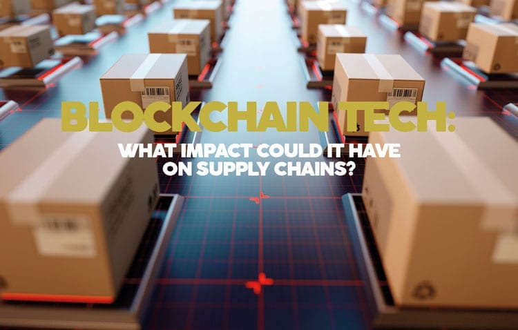 Block chain and supply chains