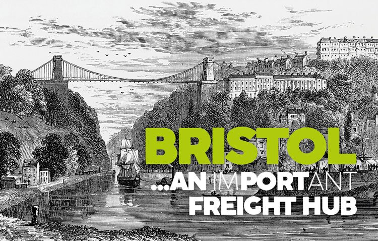 Bristol, an imPORTant freight hub