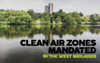 CLEAN AIR ZONES MANDATED IN THE WEST MIDLANDS