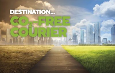 DESTINATION... CO2-FREE COURIER