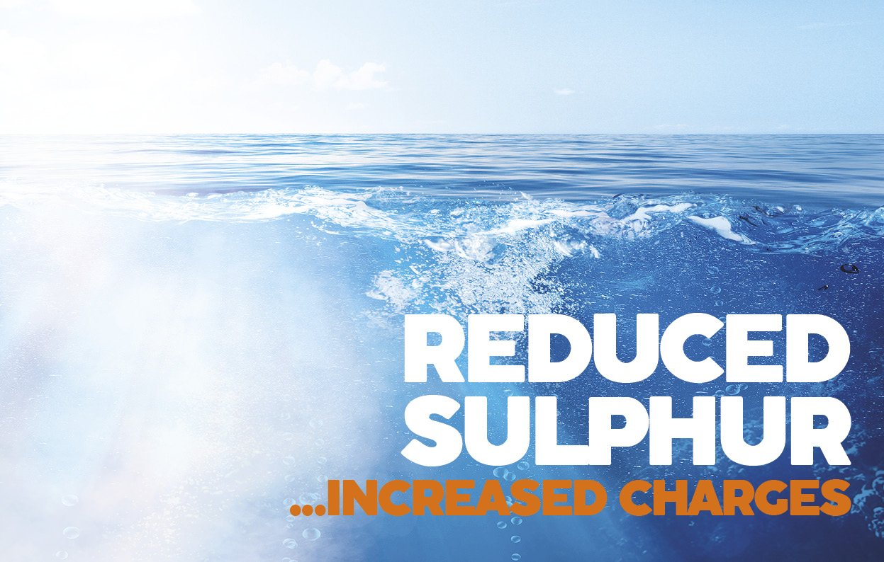 Reduced sulphur ocean freight
