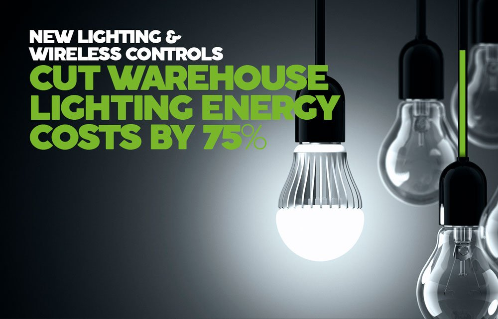 Warehouse lighting energy costs