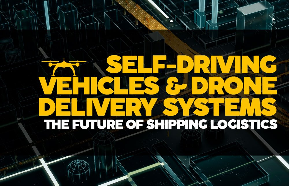 SELF-DRIVING VEHICLES & DRONE DELIVERY SYSTEMS