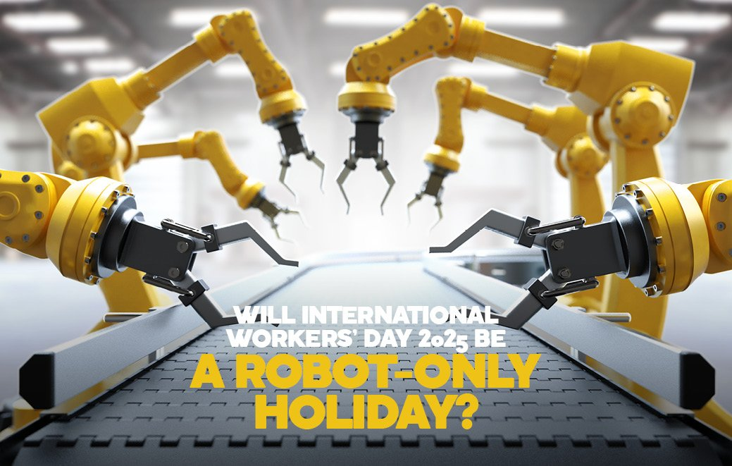 Robot-only holiday