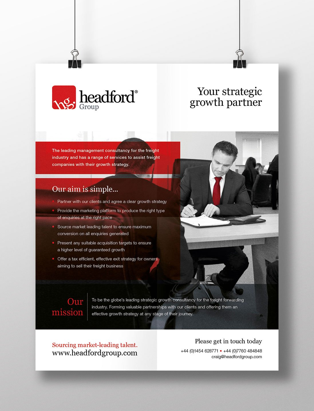 Headford Group advert