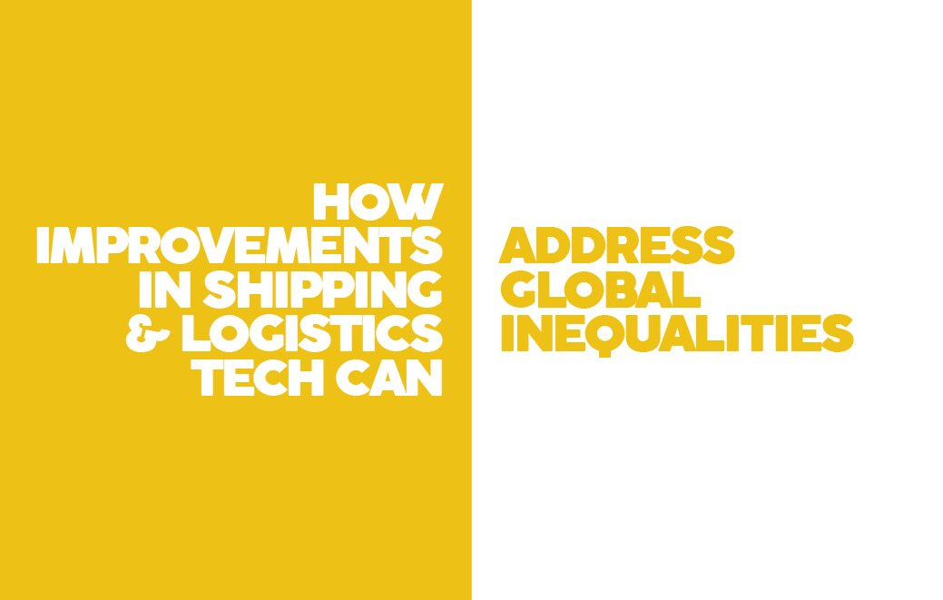 Logistics tech and global inequality