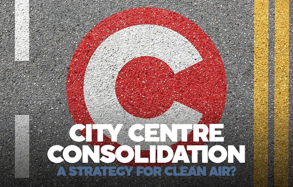 CITY CENTRE CONSOLIDATION A STRATEGY FOR CLEAN AIR?