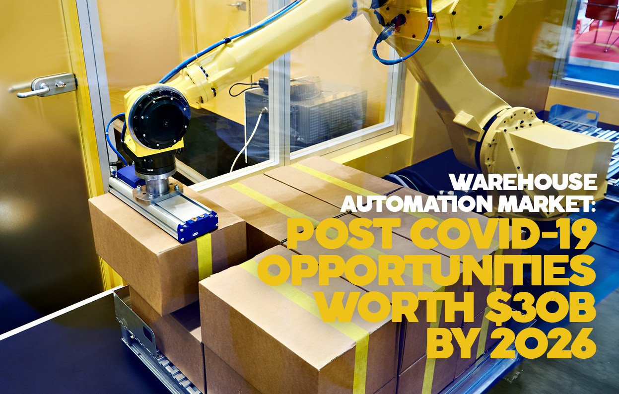 WAREHOUSE AUTOMATION MARKET: POST COVID-19 OPPORTUNITIES WORTH $30B BY 2026